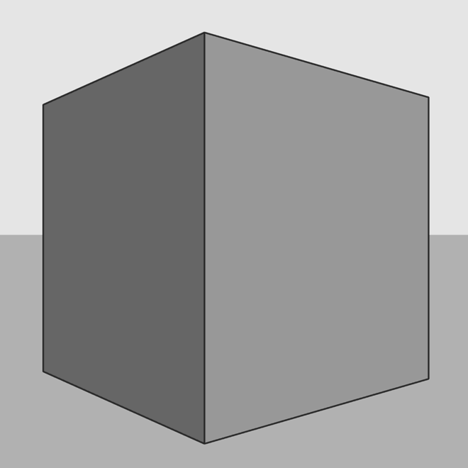 Cube: focale normale