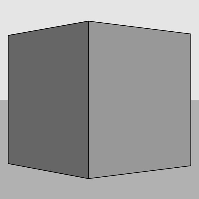 Cube: longue focale