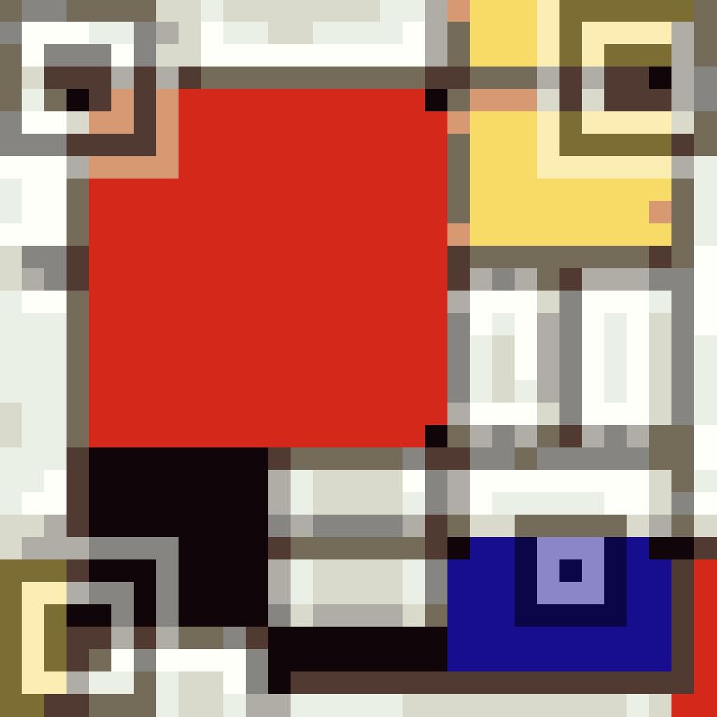 Mondrian QR Code