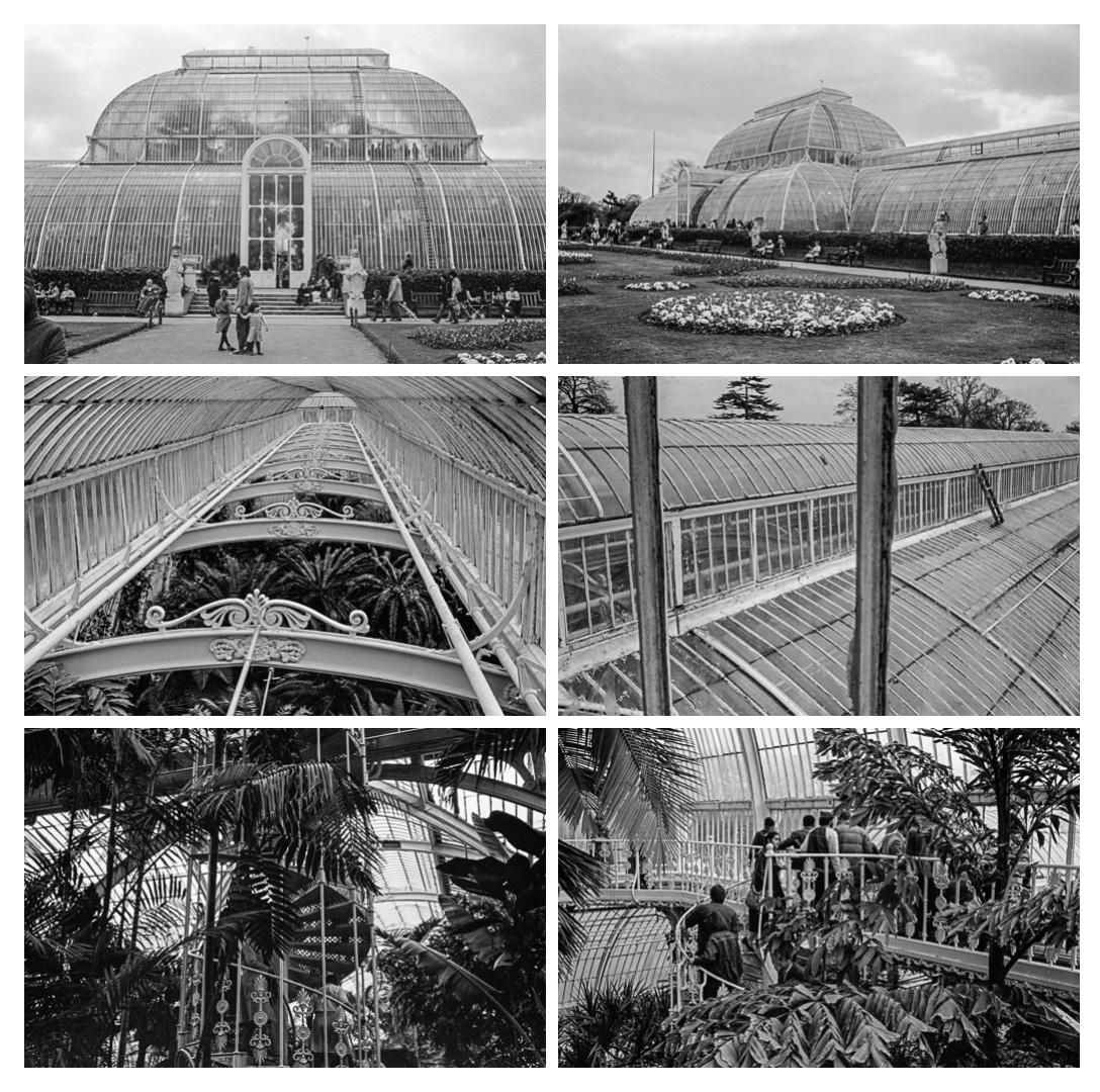 Kew Gardens, Londres, 1982