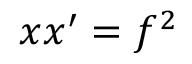 Relation de Newton